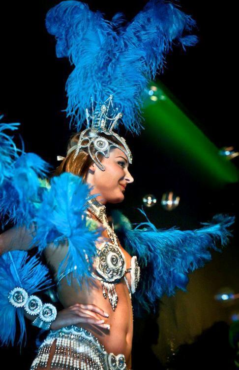 pokazy samby brazylijskiej